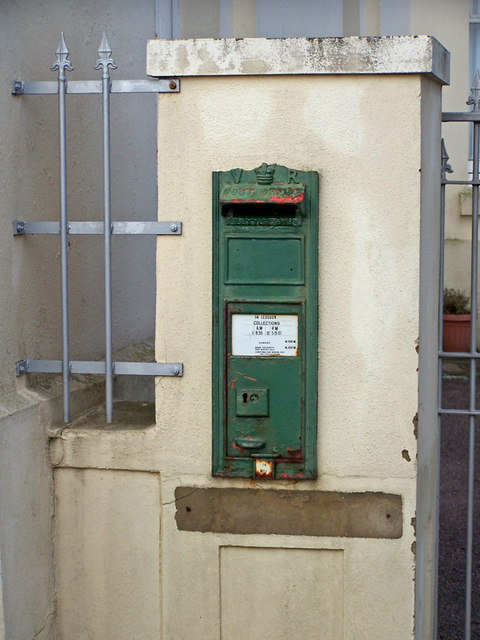 Victorian post box, Hesketh Crescent, Torquay