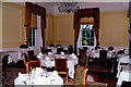 V9690 : Killarney - Great Southern Hotel formal dining room by Joseph Mischyshyn
