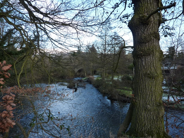 River Derwent and road bridge