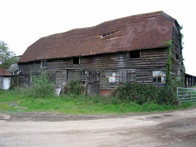 Old barn at New House Farm