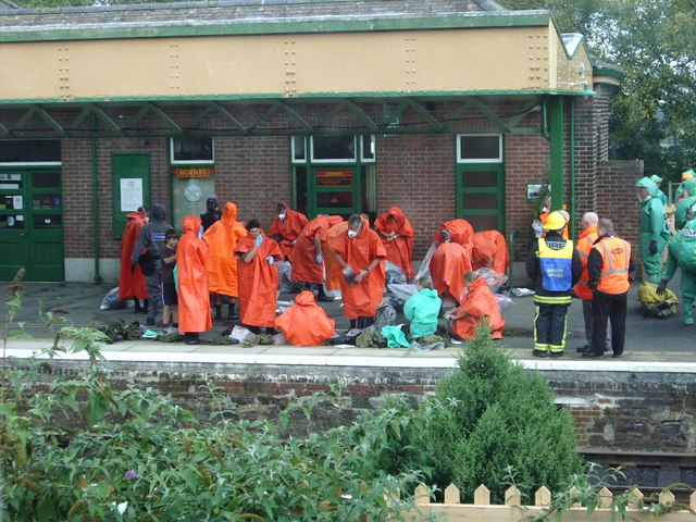 Umpalumpas invade Okehampton Station
