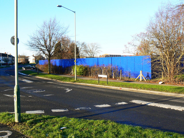 Site of University of Bath in Swindon, Marlowe Avenue, Swindon