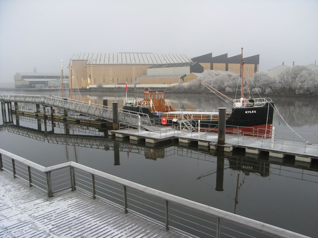 The Kyles on the River Clyde near Braehead