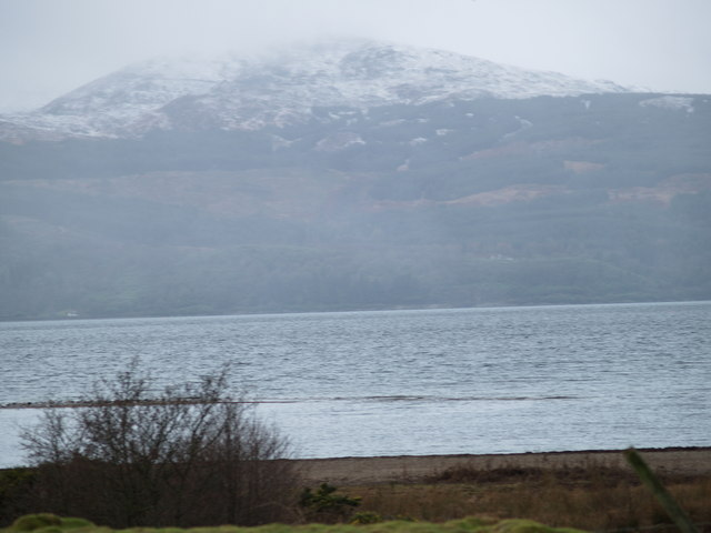 View across Loch Fyne