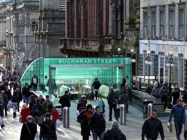 Buchanan Street underground station