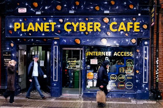 Cyber Cafe Near Mighty Joe S