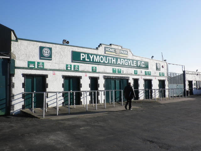 Turnstiles, at Plymouth Argyle FC