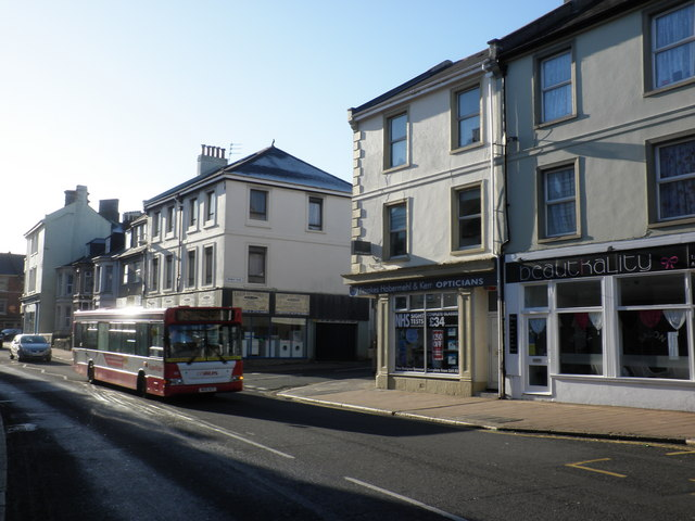 Devonport Road Stoke Plymouth 169 Roger Cornfoot Cc By Sa