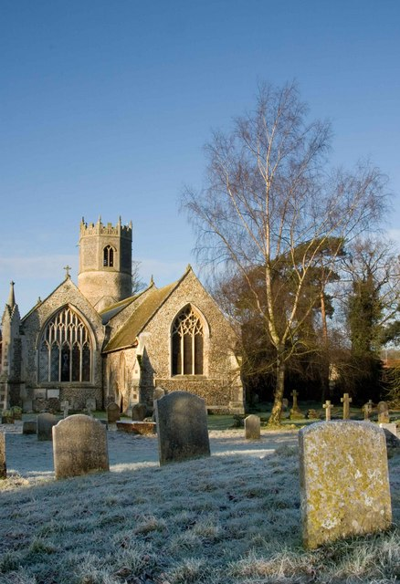 St Mary's Church, Rickinghall Inferior