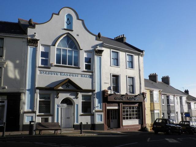 St Aubyn Masonic Hall Stoke Plymouth 169 Roger Cornfoot