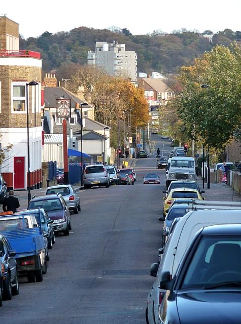 View down Chapel Road