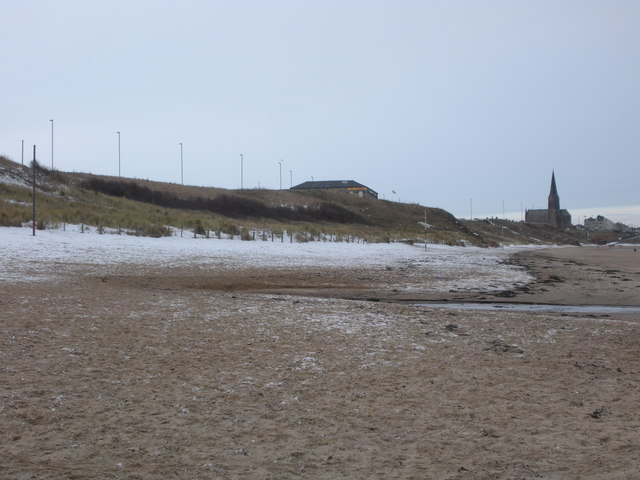 Long Sands, after snow