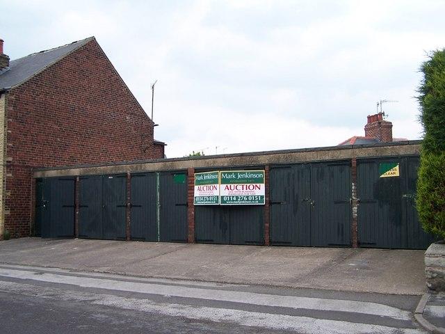 Top Deck Garage Block, Dixon Road, Hillsborough, Sheffield