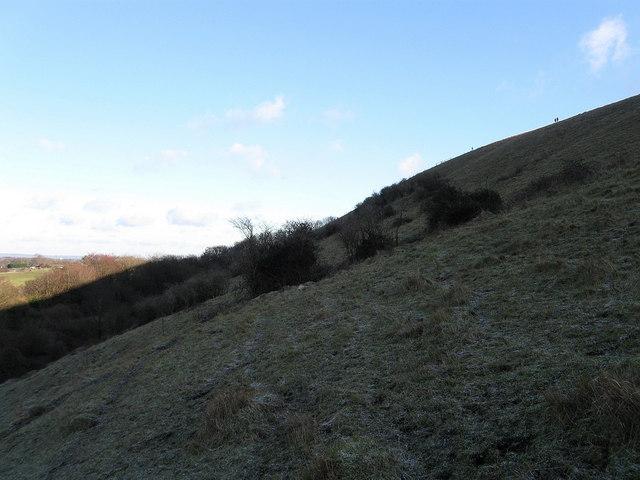 Permissive Footpath, Wolstonbury Hill