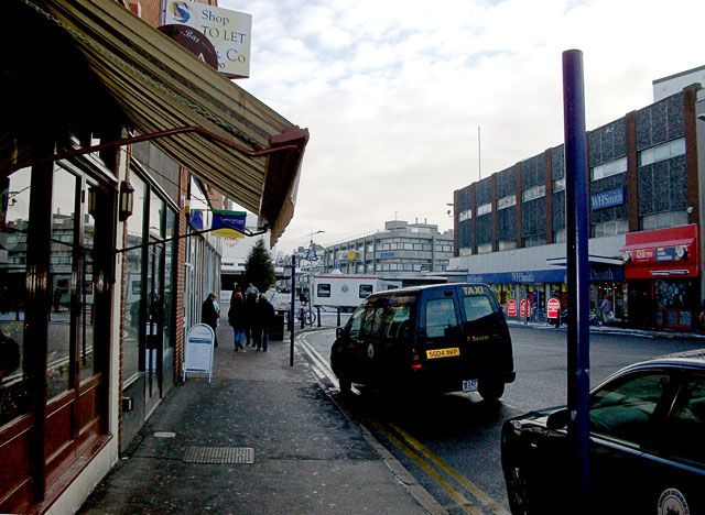 End of London Road, Southend, looking east