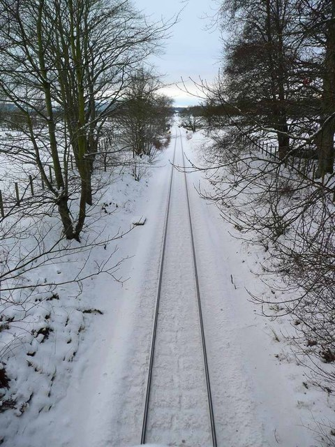 The track to Beauly and Inverness
