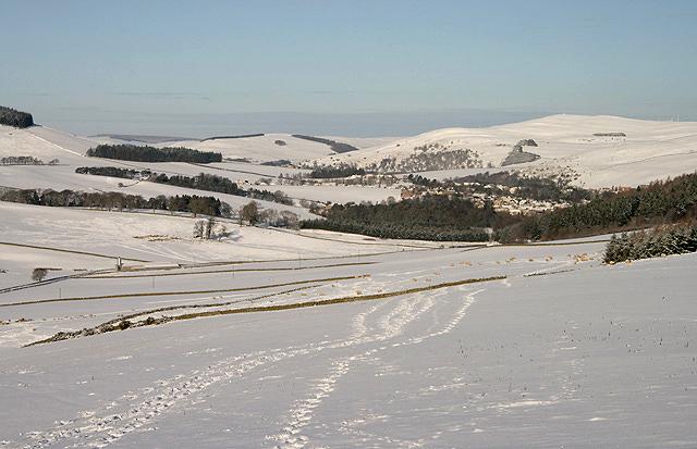 Farmland at Hollybush