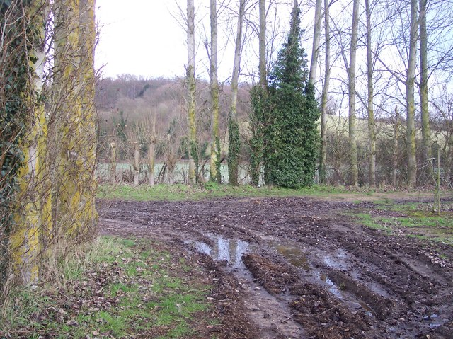 Bridleway junction near Soleshill Farm