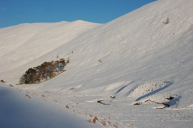 January snow in Glen Sax