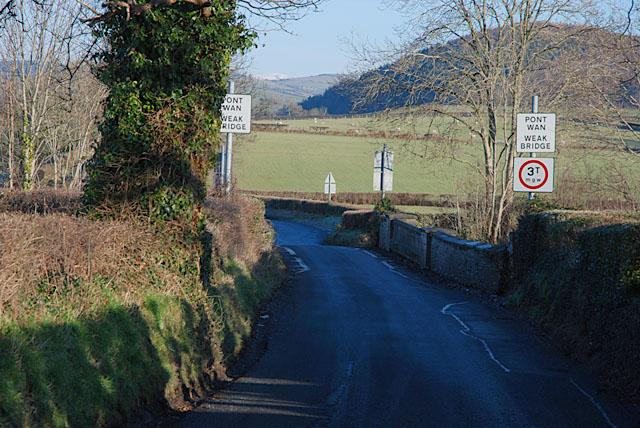 Bridge over the Cambrian line