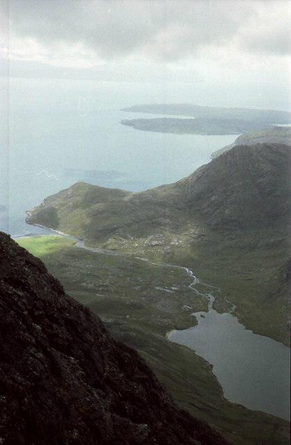 South west slopes of Blabheinn