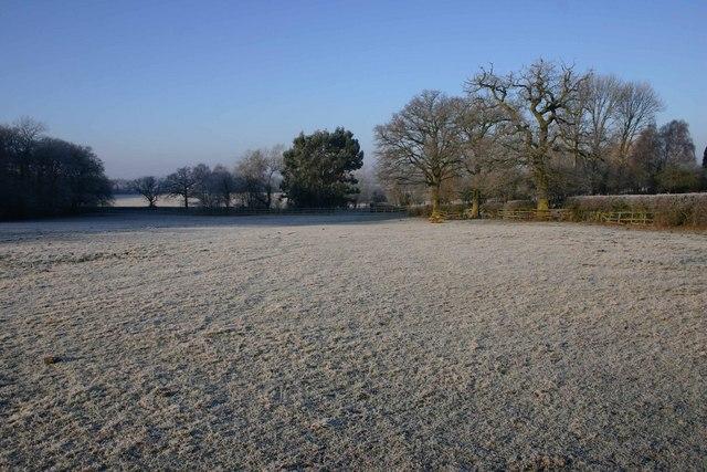 Fields near Westfields Farm