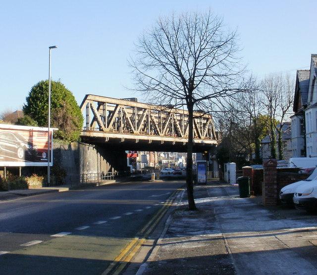 Chepstow Road railway bridge(1), Newport