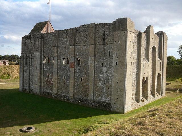 Castle Rising (northwest corner)