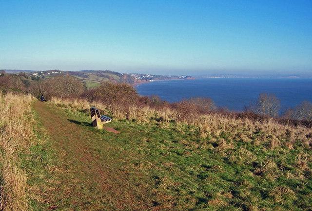 Clifftop viewpoint