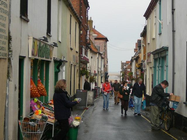 Staithe Street, Wells-next-the-Sea