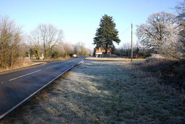Fosse Way junction with Wellesbourne Road