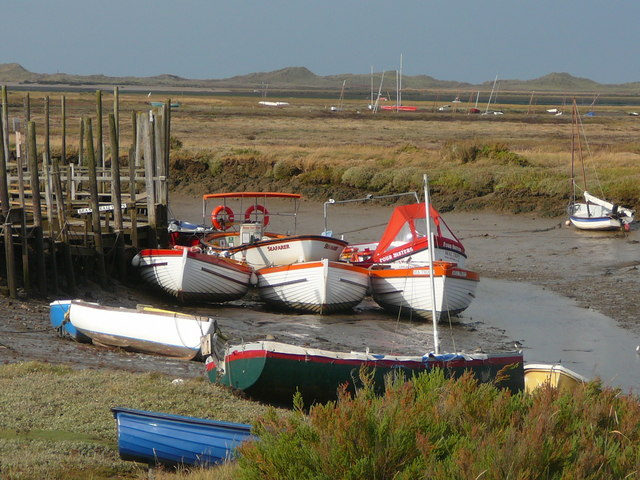Boats in Morston Creek