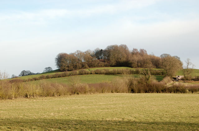 The west end of Big Hill, Staverton