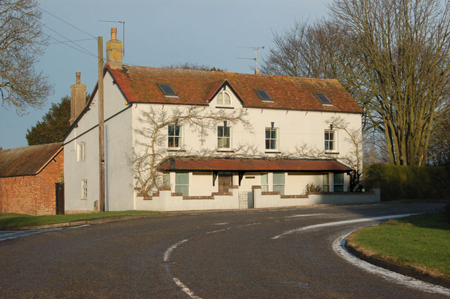 House on a corner of Daventry Road, Staverton
