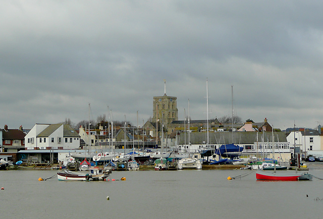 Across the River Adur to Shoreham, West Sussex