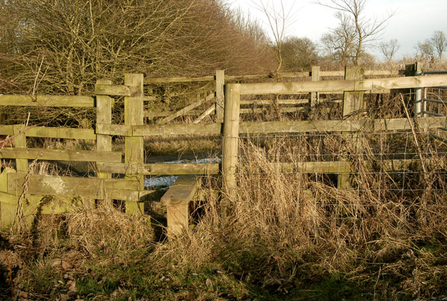 Stile on footpath east of Staverton