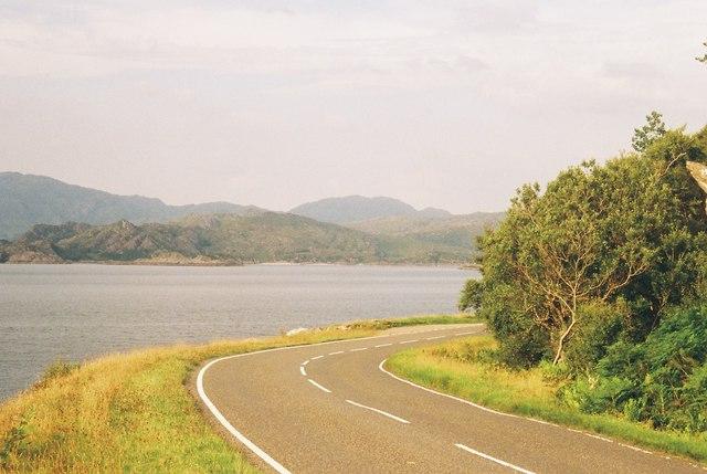 Loch Ailort Rubh' a' Chairn Mhoir, Roshven