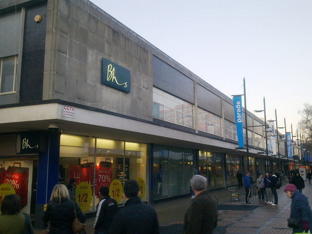 Bhs store, Bridge Street, Swindon