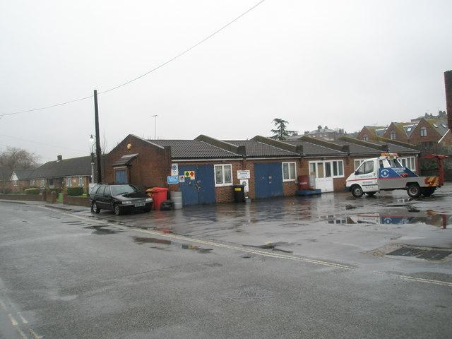 Garage in Fitzalan Road