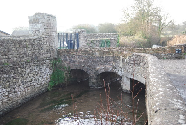 Footbridge over the Washford River, Cleeve Abbey
