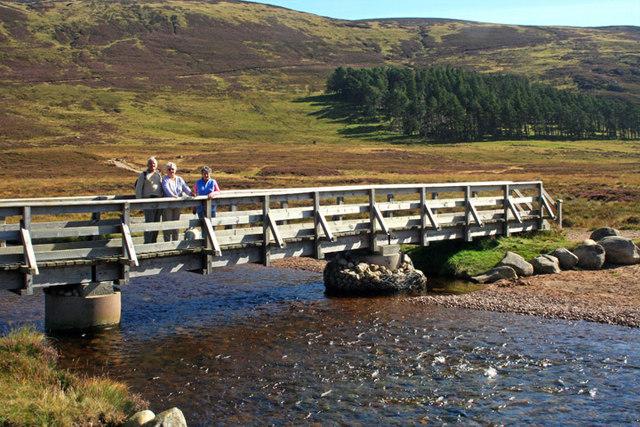 Bridge over the river Muick