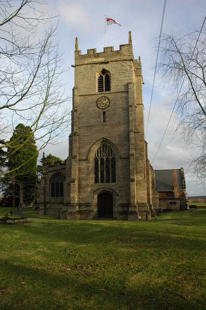 Inkberrow Church Tower
