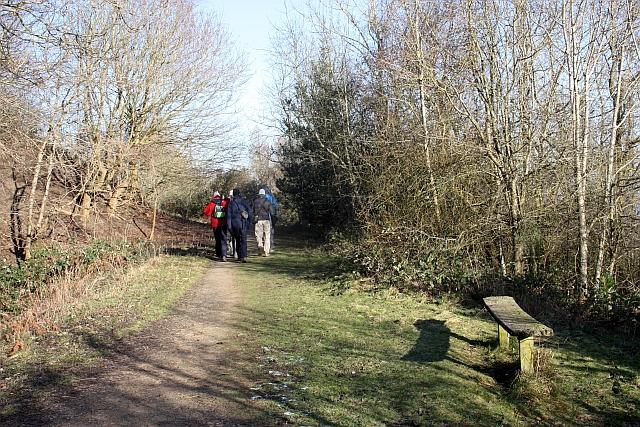 Path to Berrington's Quarry