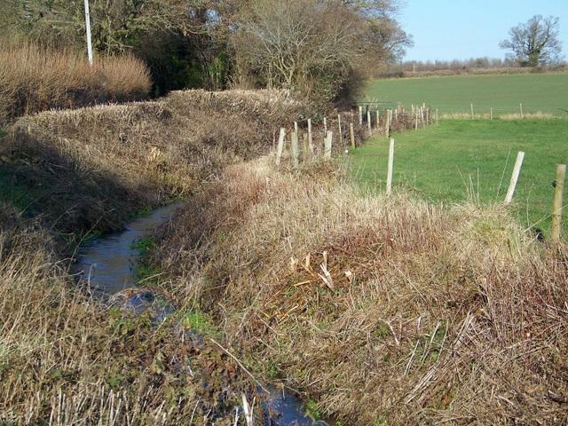 Stream near Bradford Farm