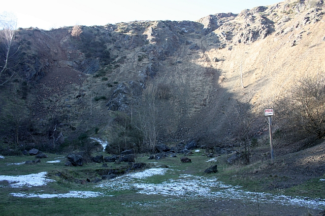 Berrington's Quarry on New Year's Day