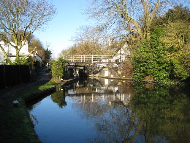 Grand Union Canal: Lock Number 72: Hunton Bridge Top Lock (1)