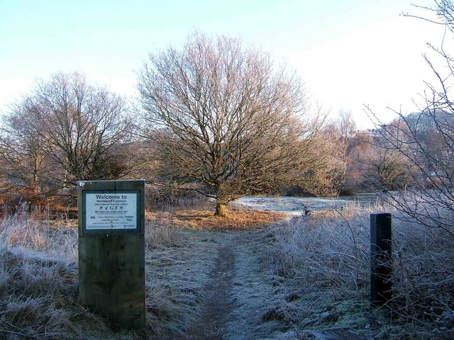 Hartlebury Common - entrance from South Car Park