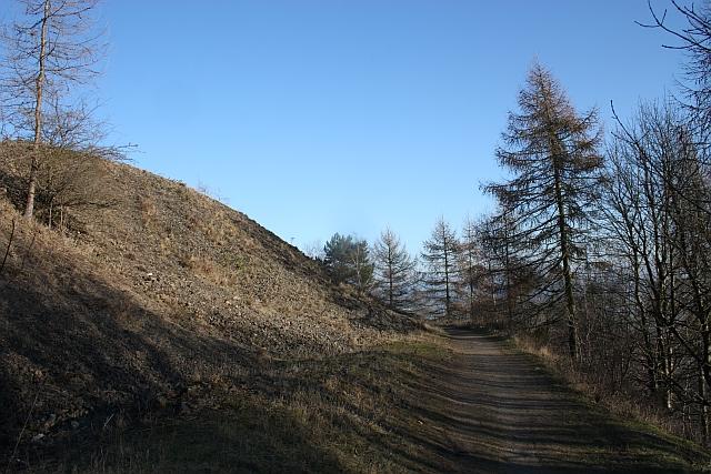 Path from Berrington's Quarry