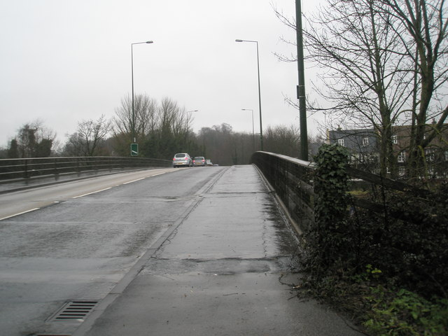 Bridge over Fitzalan Road on the bypass