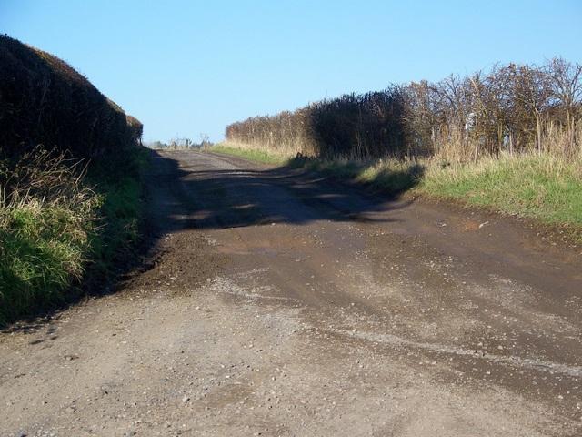 Track to Dean Farm